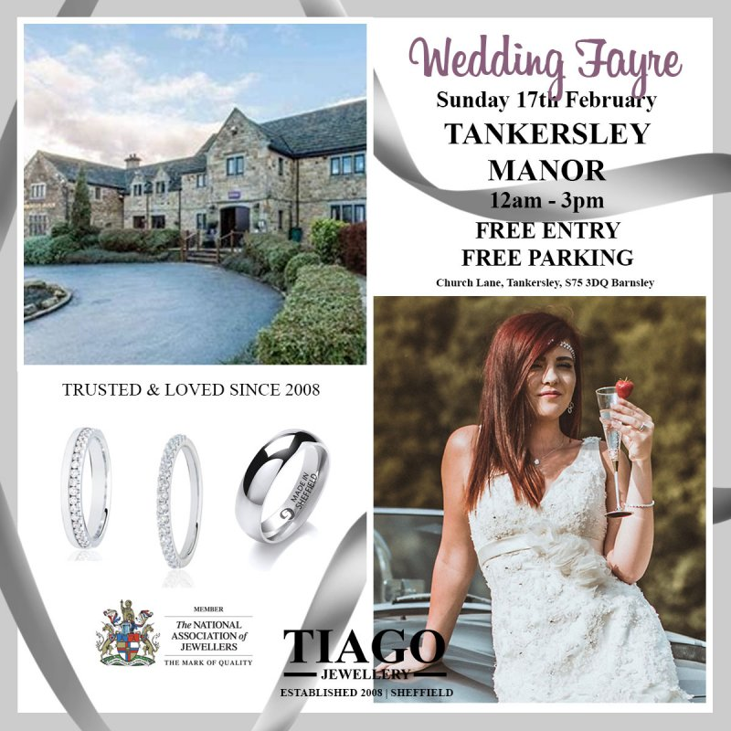 Wedding Fayre Showcase | Sunday 17th February | Tankersley Manor