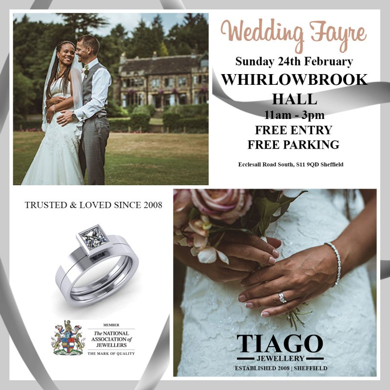 Wedding Fayre Showcase | Sunday 24th February | Whirlowbrook Hall