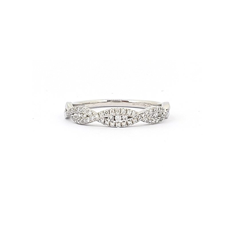 0.19ct Diamond Twist Claw Ring £900.00