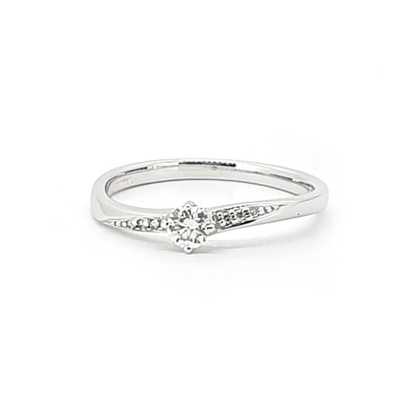 0.17ct Diamond Shaped Engagement Ring £720.00