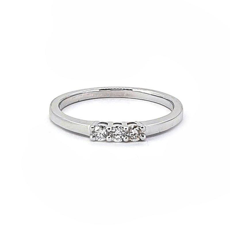 9ct White Gold 0.24ct Diamond Engagement Ring £750.00