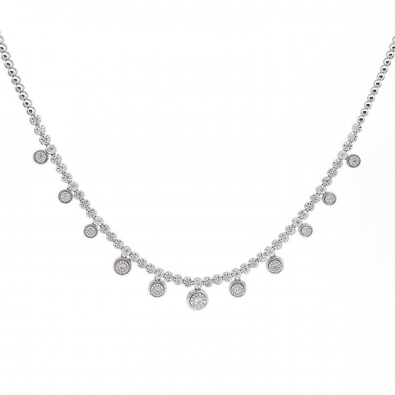 0.81CT Illusion Set Dot Necklace £3000.00