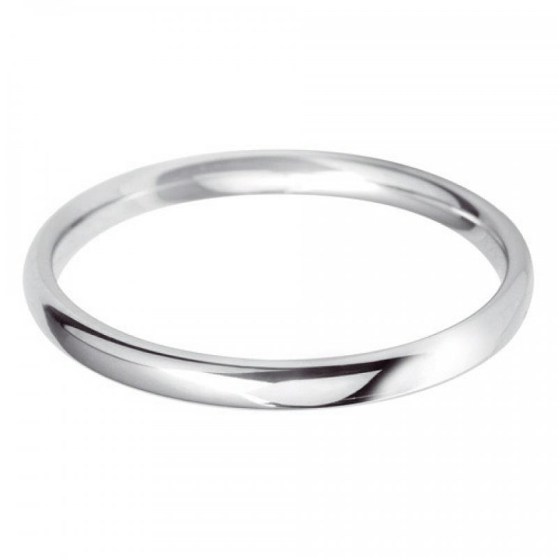 Ladies Plain Wedding Bands
