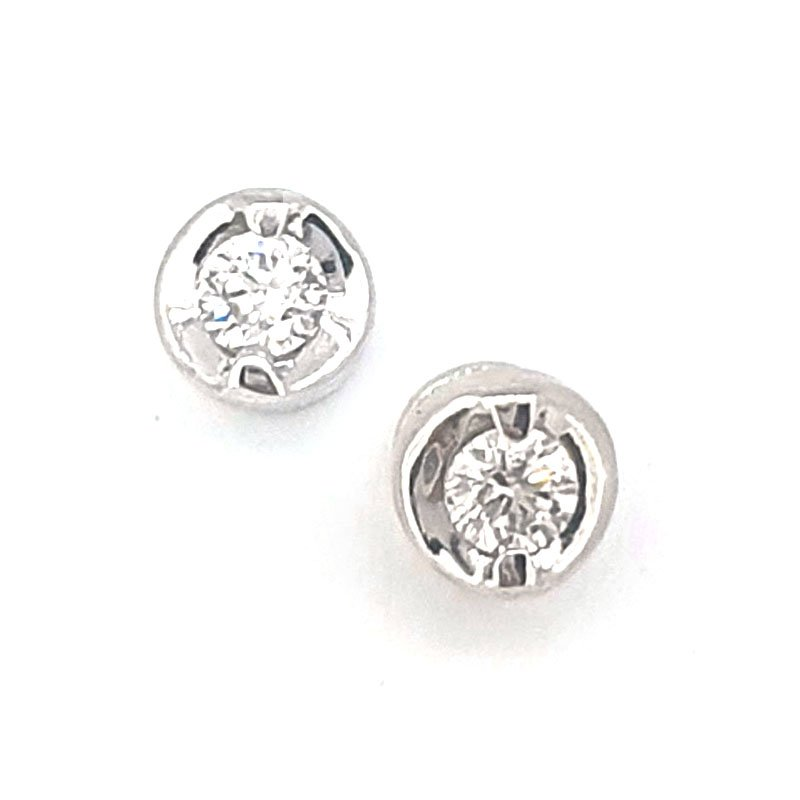 18ct Diamond Studs 0.20ct £595.00