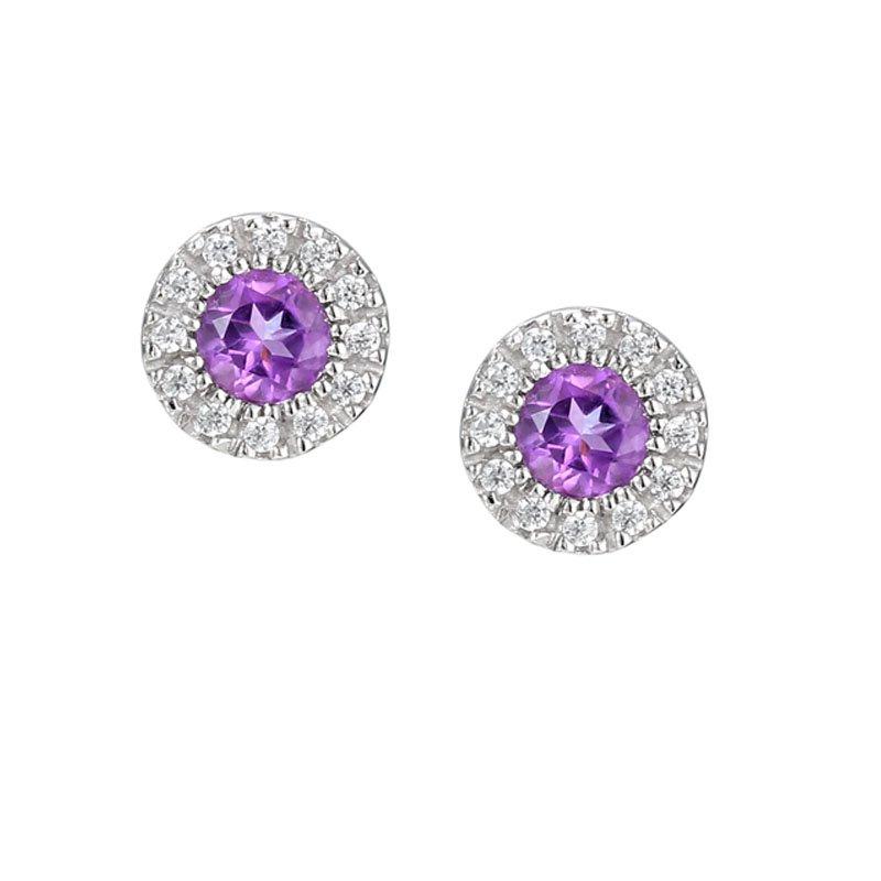 Sweet Violet Earrings