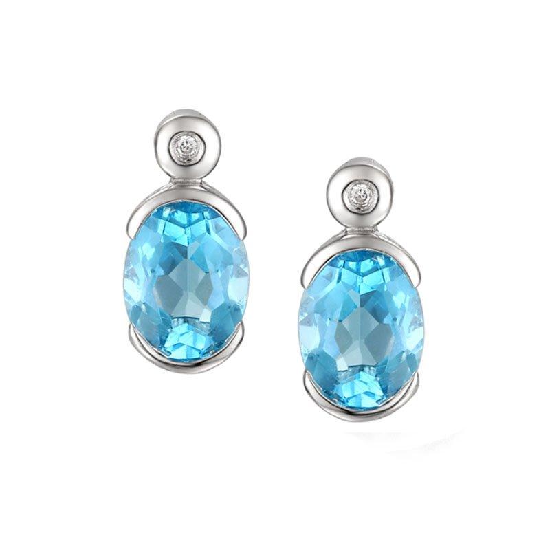 Spicy Blue Earrings