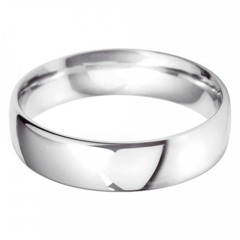 Gents Plain Wedding Bands