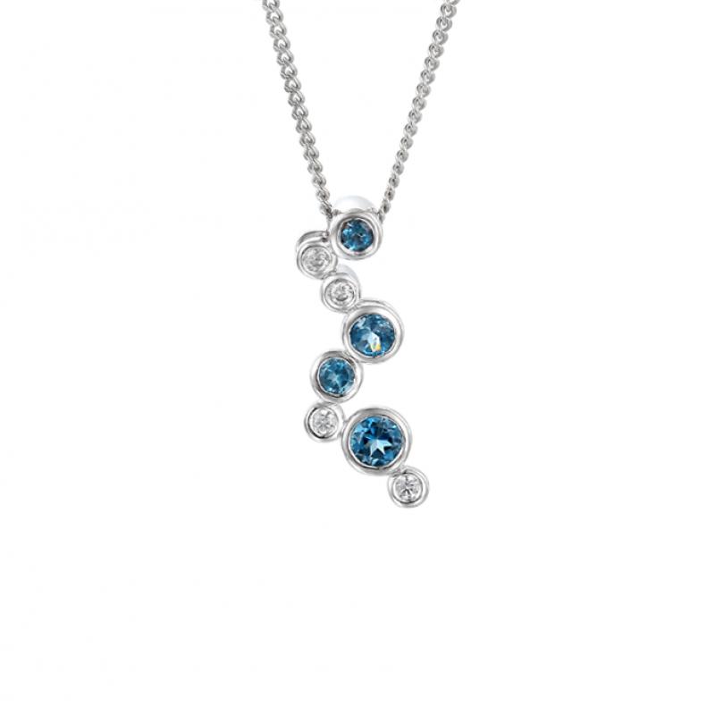 Rhapsody in Blue Necklace