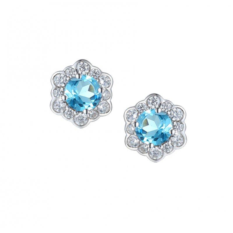 LOVABLE Hexagon Earrings