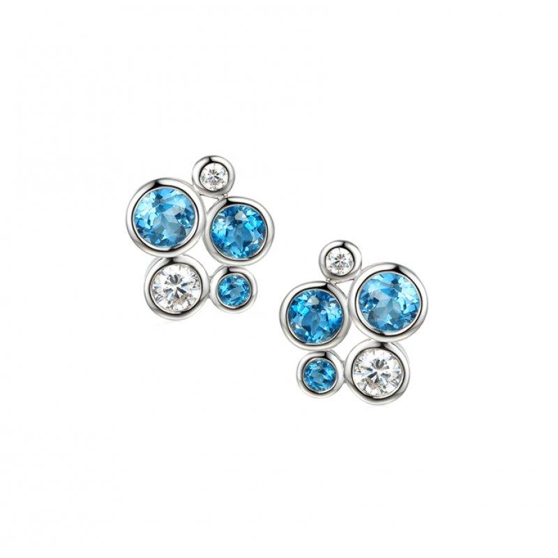 Bubble Studs Blue £79.50