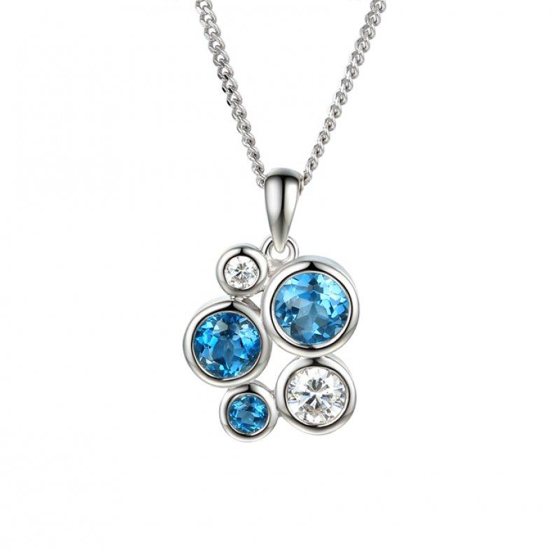 Bubble Necklace Blue £99.50
