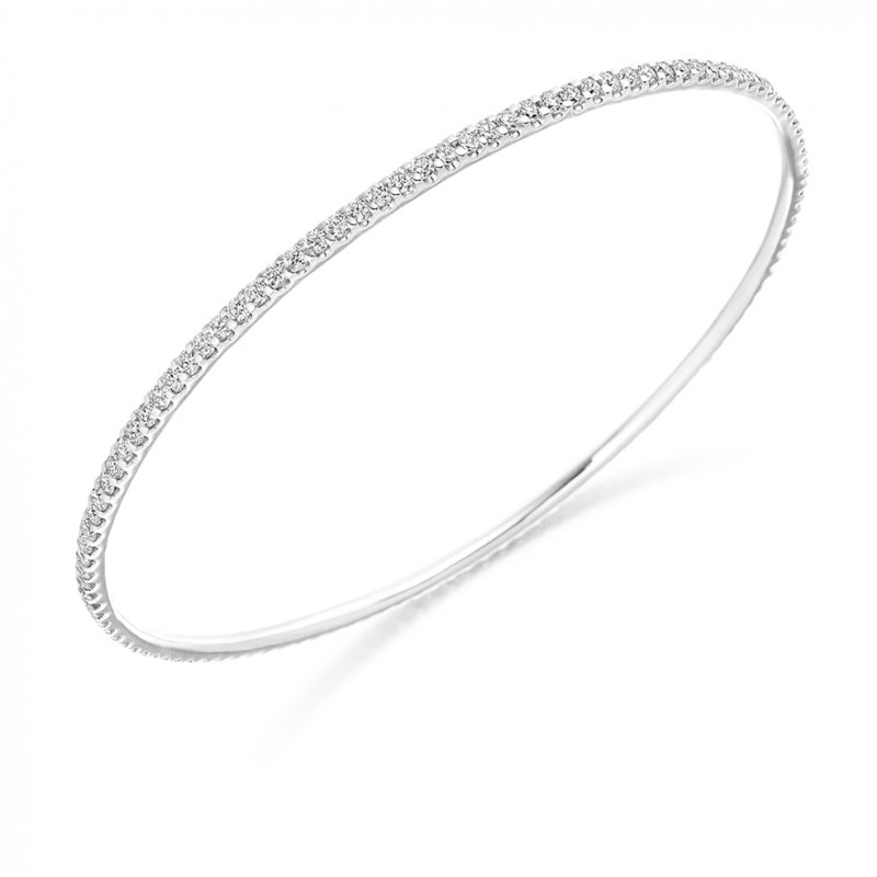 2.25ct Diamond Bangle