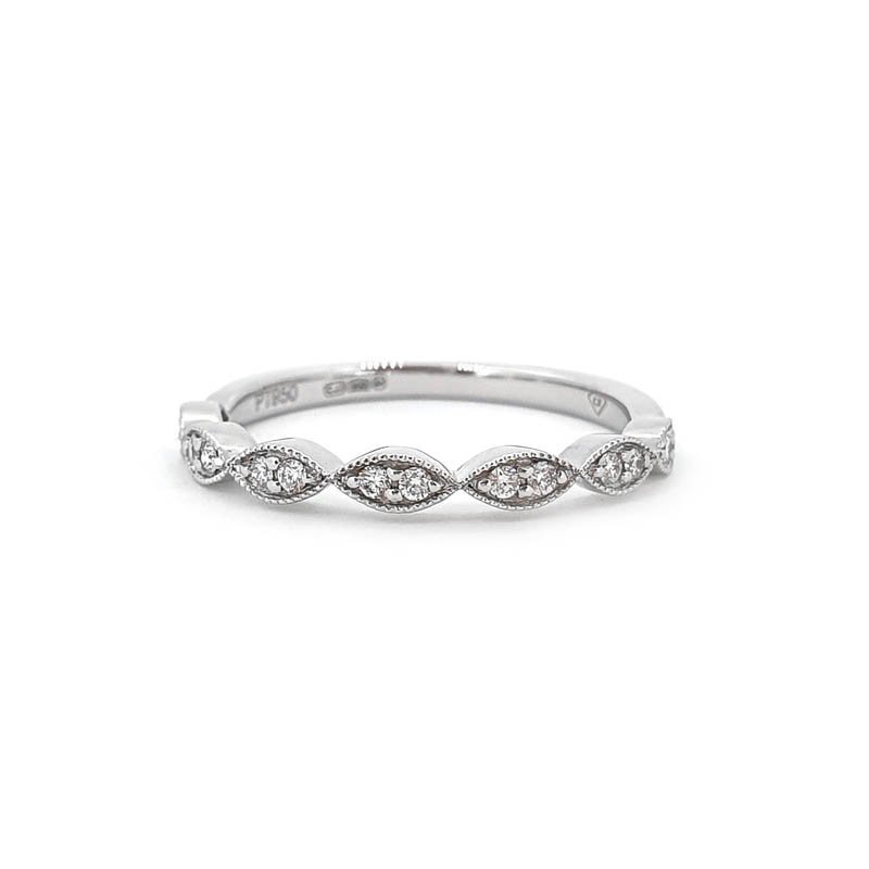 0.12ct Decorative Eyelet Ring £870.00
