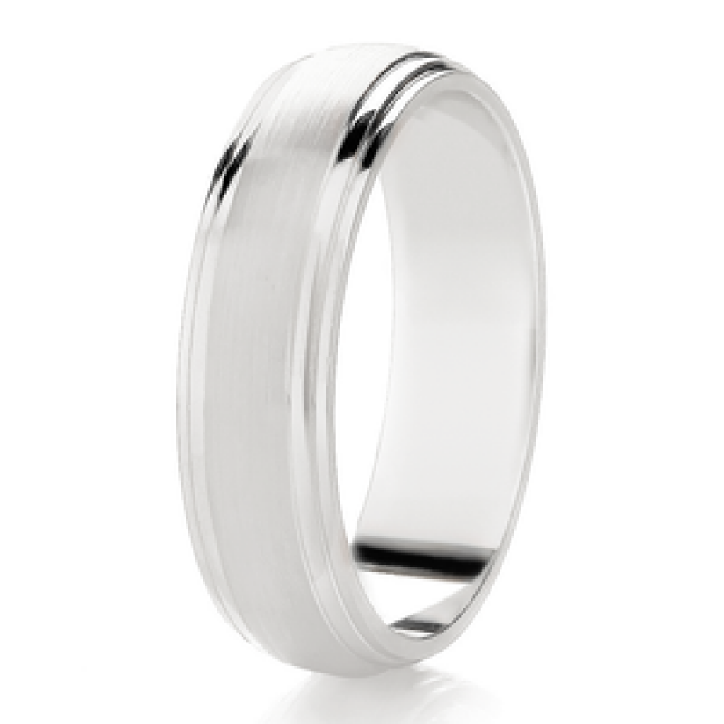 Diamond Cut Wedding Band 20