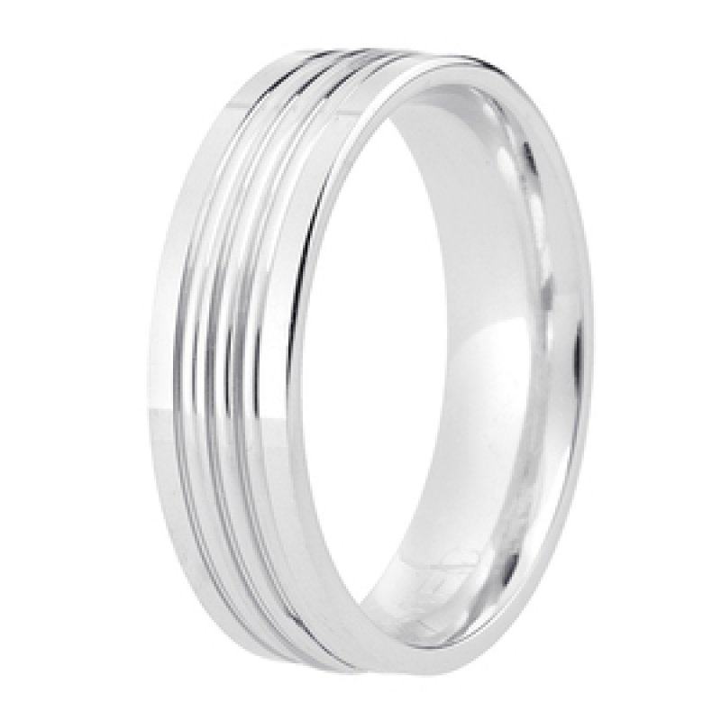 Diamond Cut Wedding Band 14