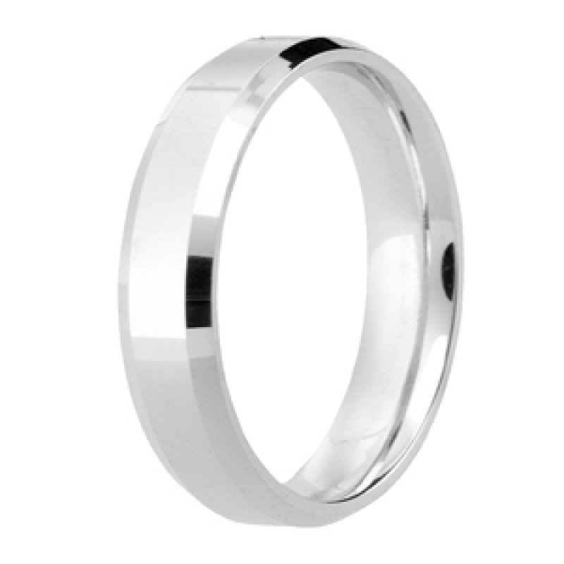 Diamond Cut Wedding Band 8