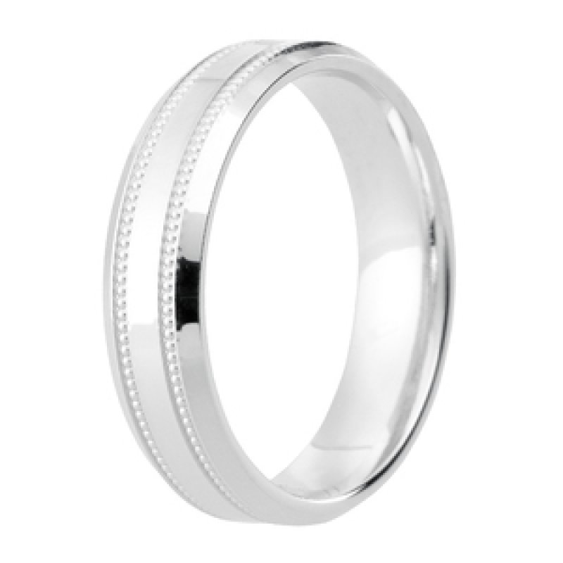 Diamond Cut Wedding Band 31