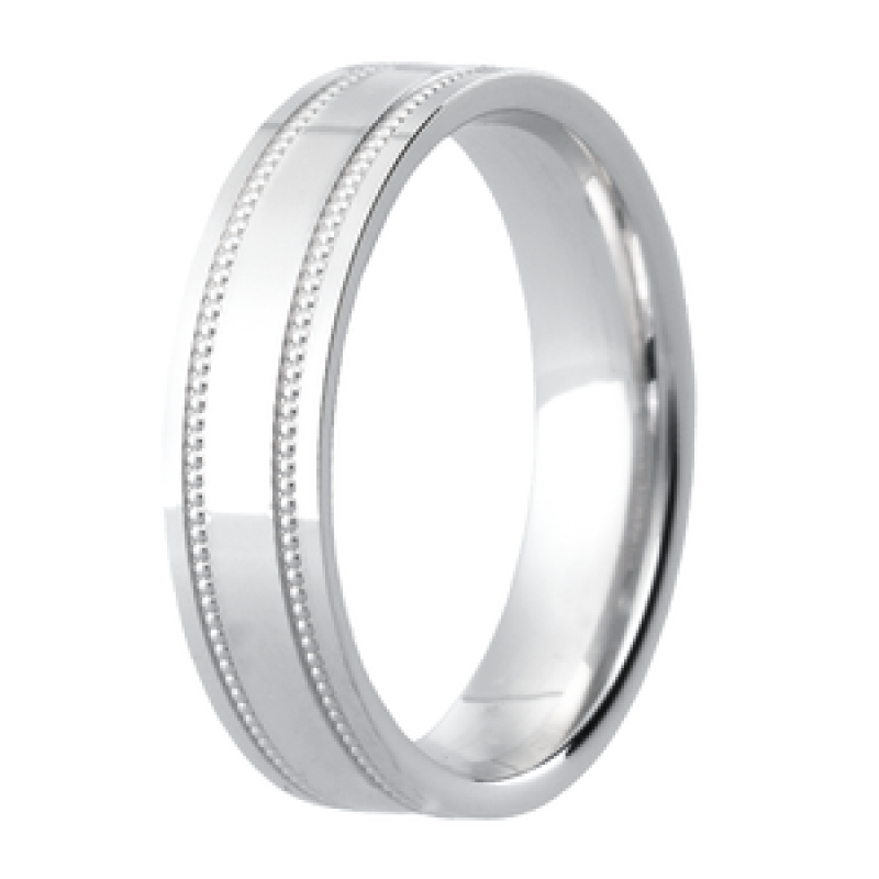 Diamond Cut Wedding Band 7