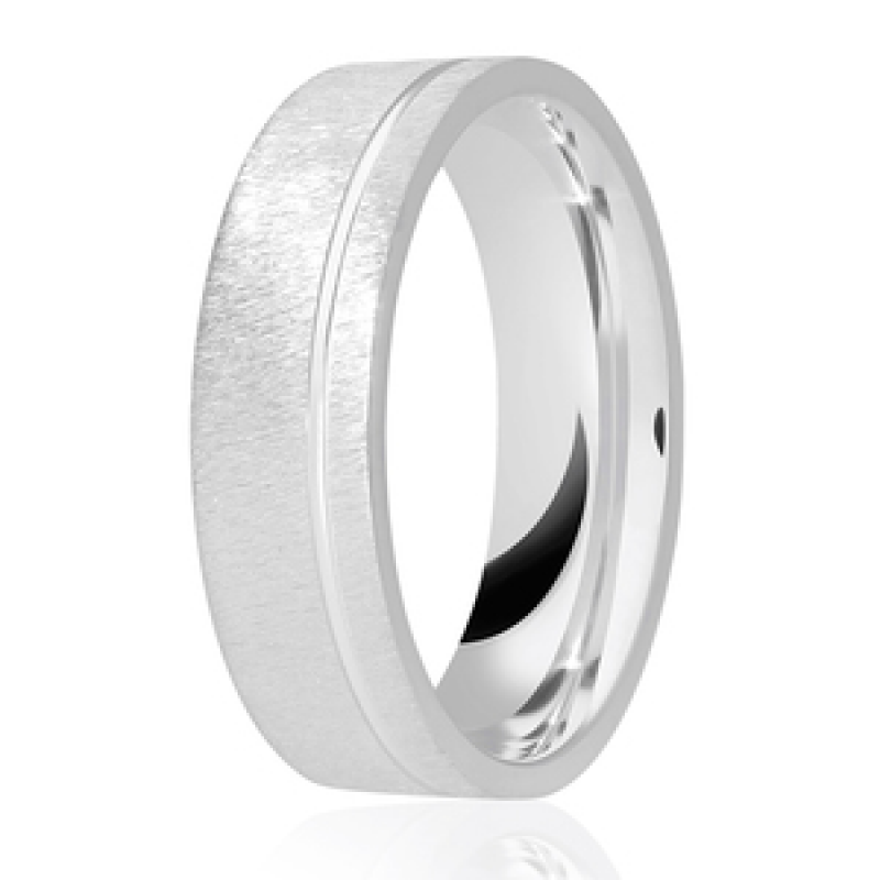 Diamond Cut Wedding Band 19