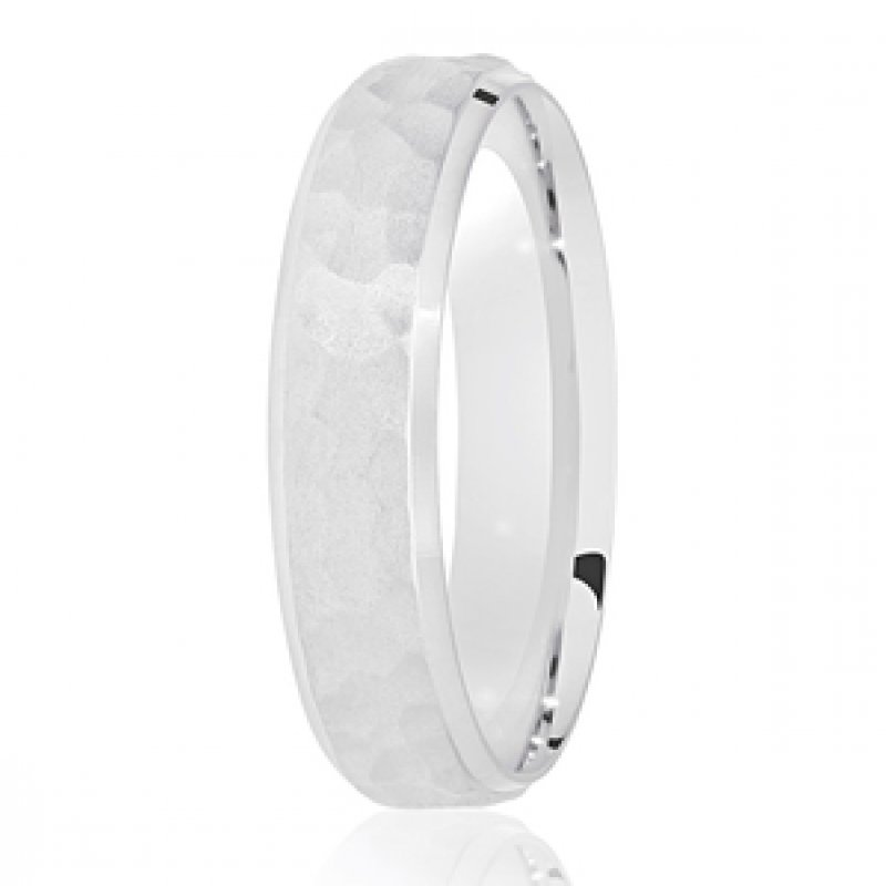 Diamond Cut Wedding Band 10