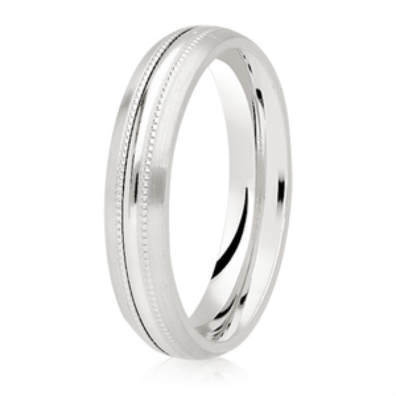 Diamond Cut Wedding Band 4