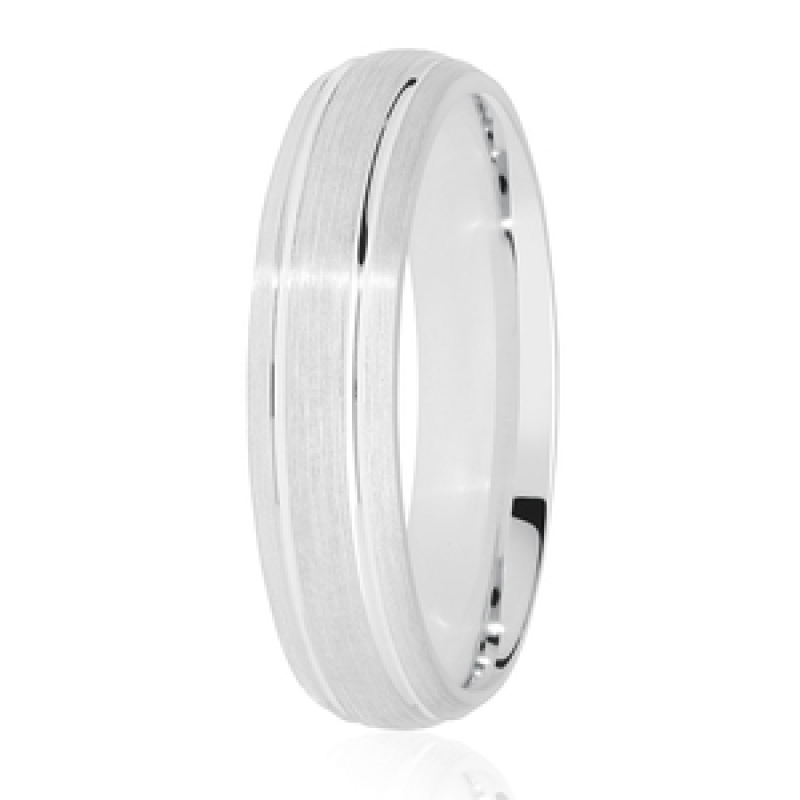 Diamond Cut Wedding Band 21