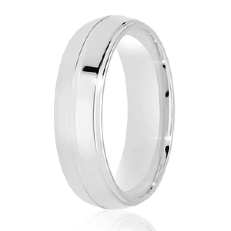 Diamond Cut Wedding Band 17