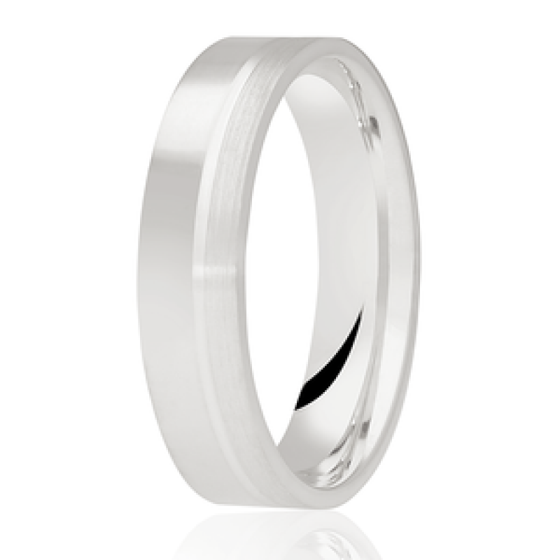 Diamond Cut Wedding Band 1