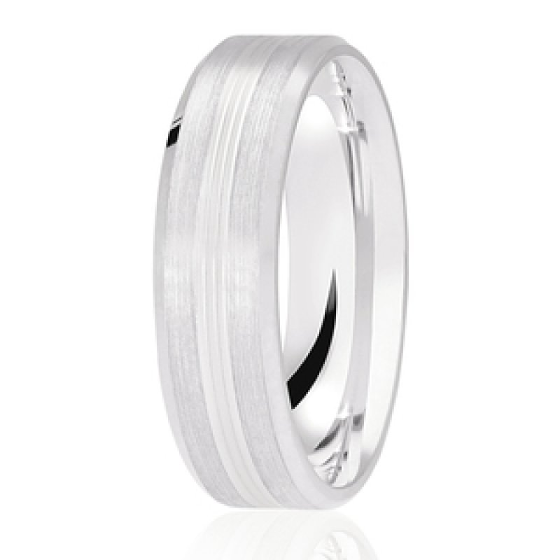 Diamond Cut Wedding Band 33