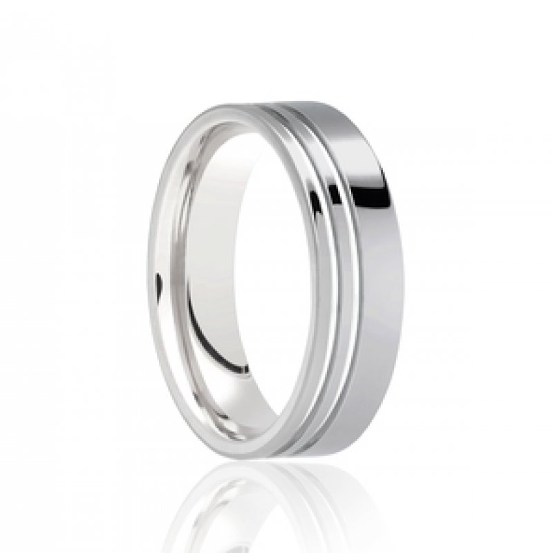 Gents Diamond Cut Wedding Bands