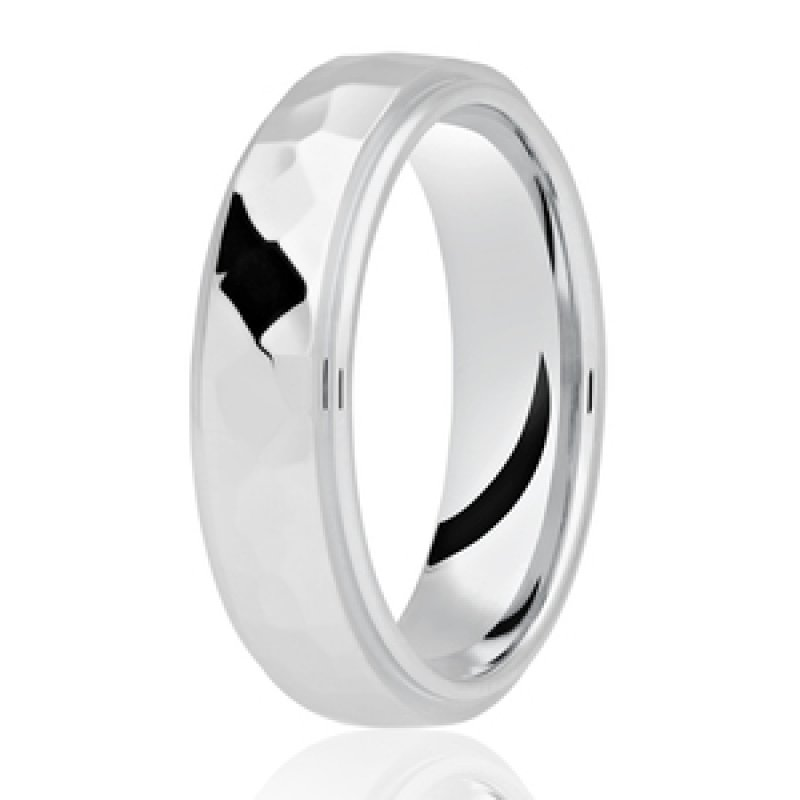Diamond Cut Wedding Band 13