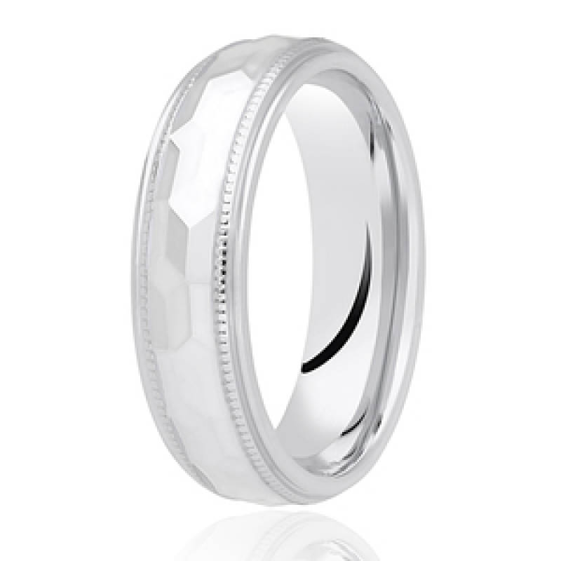 Diamond Cut Wedding Band 28