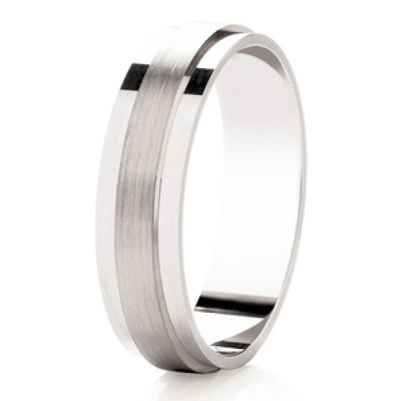 Diamond Cut Wedding Band 11