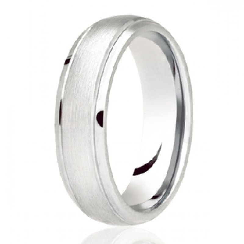 Diamond Cut Wedding Band 9