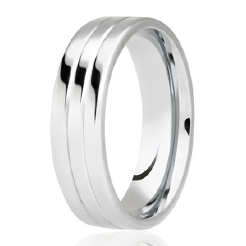 Diamond Cut Wedding Band 25