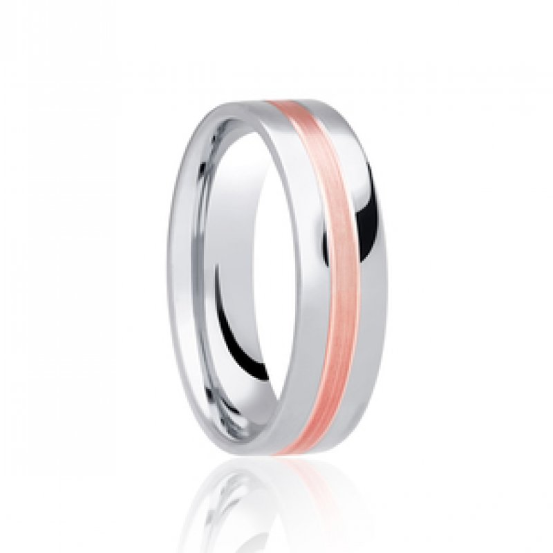 Bi-Colour Wedding Bands