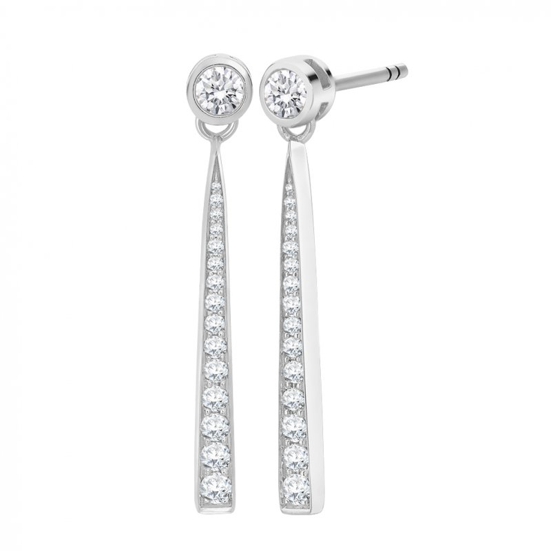 0.55ct Diamond Earrings