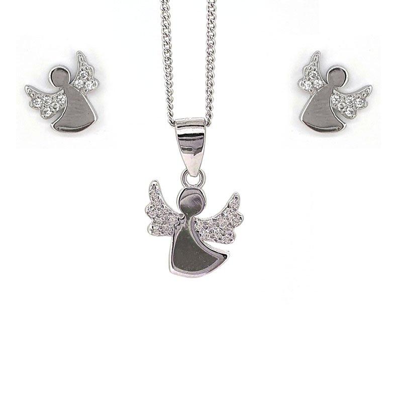 Silver Angel Set £36.00
