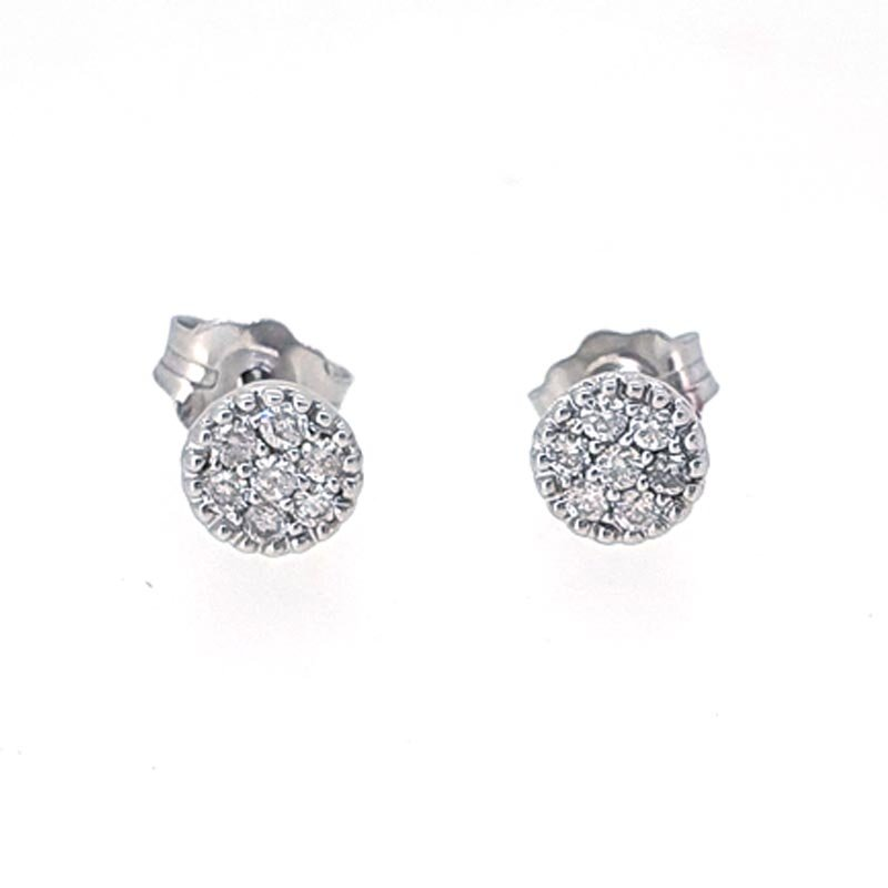 18ct Diamond Studs 0.14ct