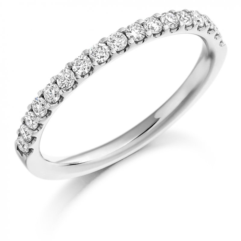 0.33ct Micro-claw Set Diamond Band