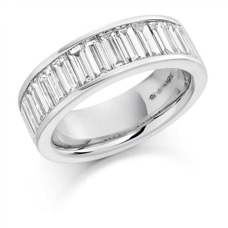 2.00ct Baguette Channel Diamond Eternity Ring
