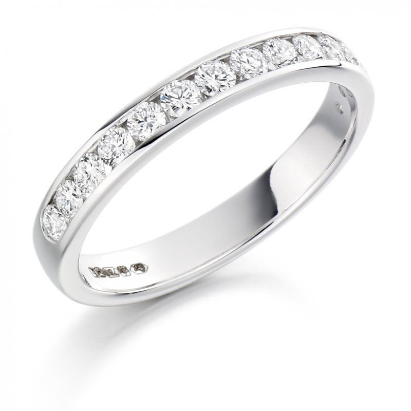 0.50ct Round Brilliant Channel Diamond Band