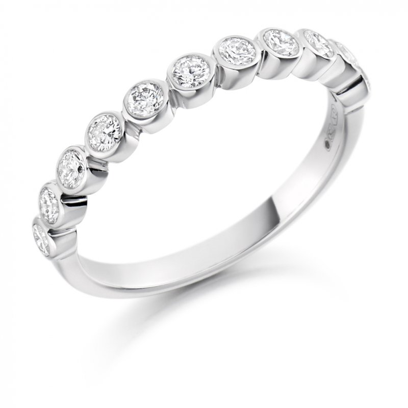 0.50ct Rubover Diamond Band 2