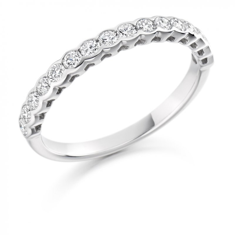 0.50ct Rubover Diamond Band 4