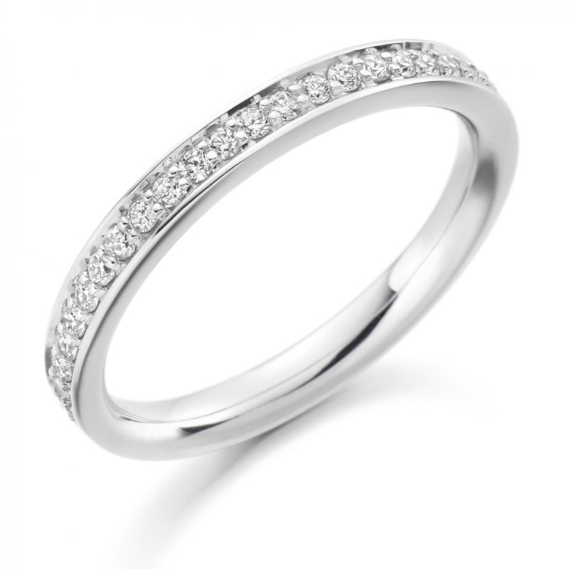 0.25ct Grain Set Diamond Band 2