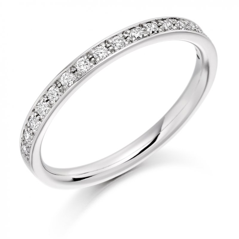 0.25ct Grain Set Diamond Band 4