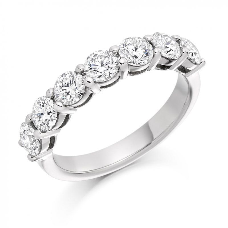 1.50ct Shared Claw Diamond Eternity Ring
