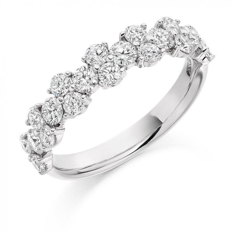 1.20ct Fancy Diamond Band