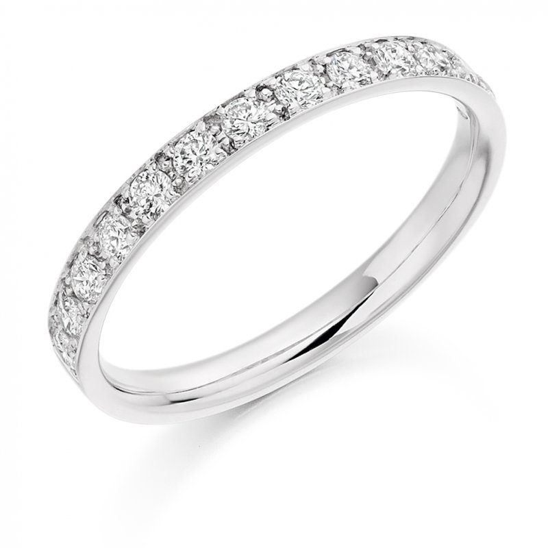 0.40ct Grain Set Diamond Band 5