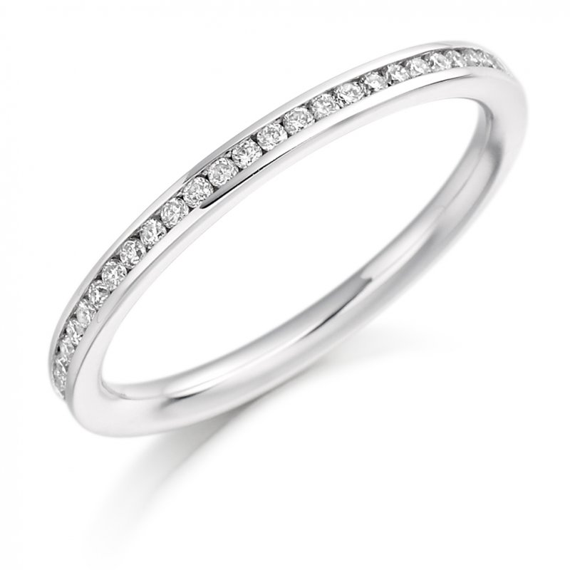 0.20ct Round Brilliant Channel Set Diamond Band